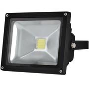Perel Perel LEDA3002WW-B COB 3800K LED Lamp 20 W - Black