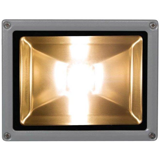Perel LEDA3002WW-G COB 3800K LED Lamp 20 W - Grey