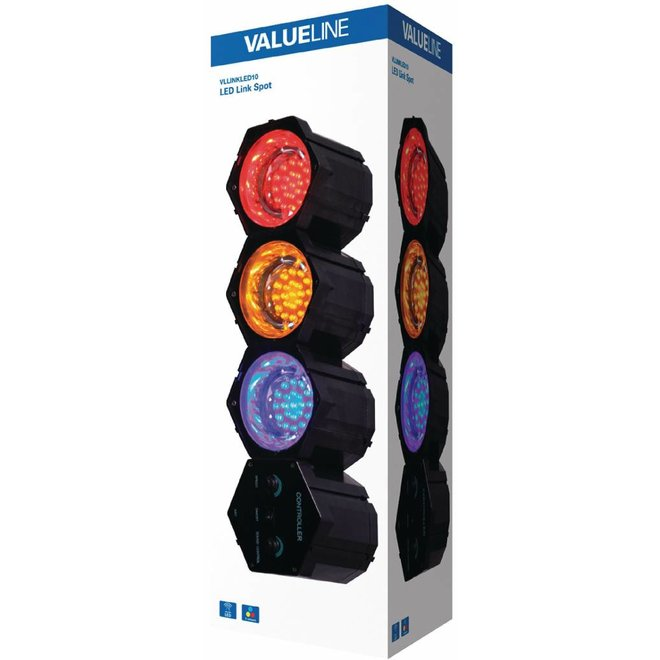 Valueline Multicolour LED Linkspot 3 Lights
