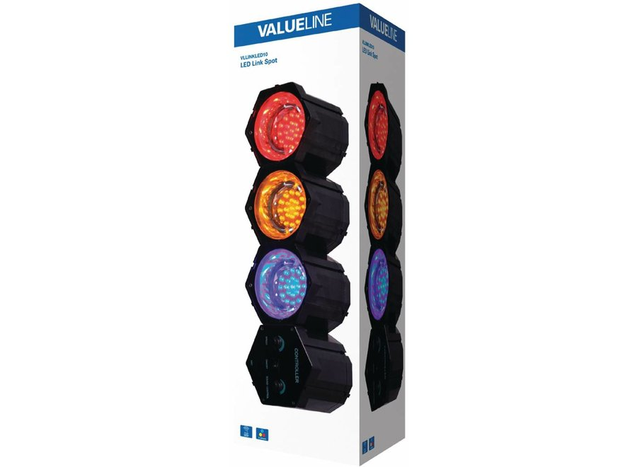 Valueline Multicolour LED Linkspot 3 Lights