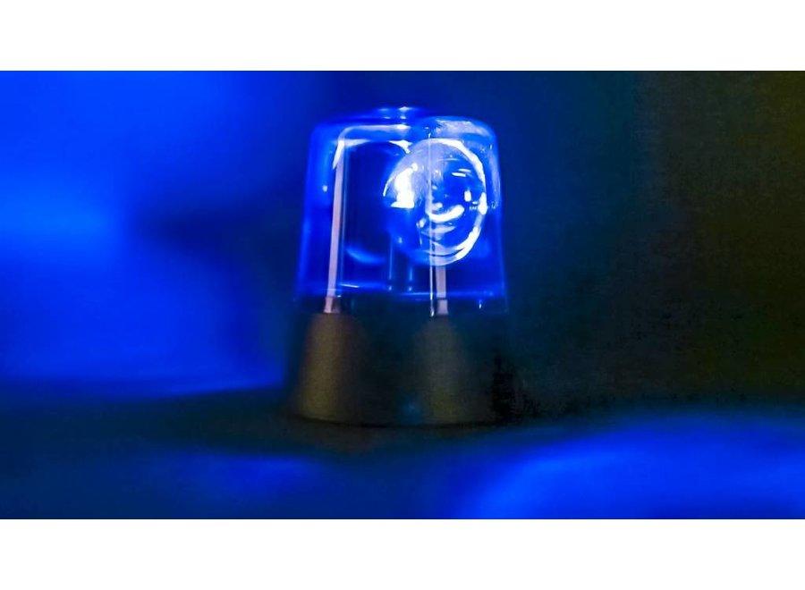 Valueline LED Zwaailicht - Blue