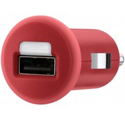 Belkin Belkin Mixit LED USB Autolader 1 A - Red