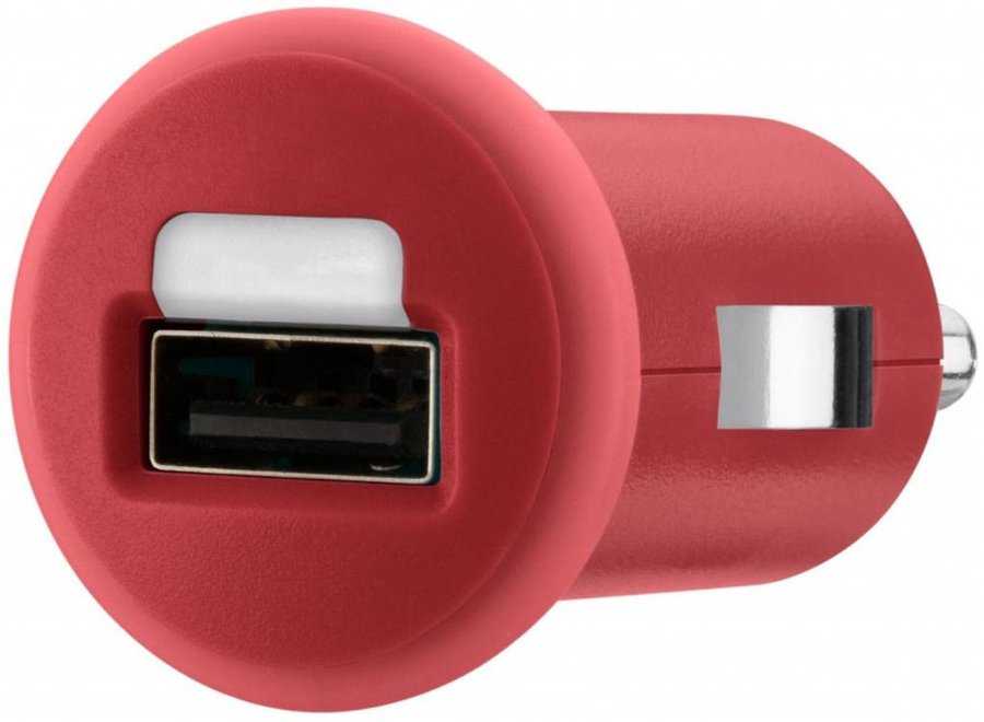 Belkin Mixit LED USB Autolader 1 A - Red
