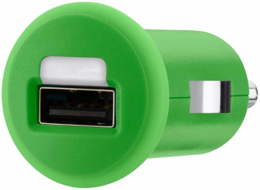 Belkin Mixit LED USB Autolader 1 A - Green