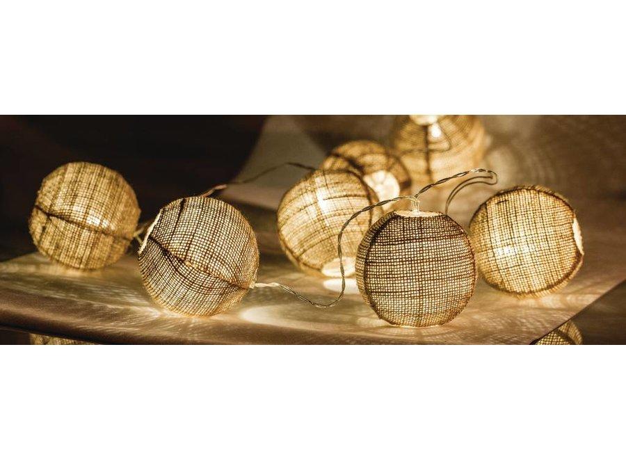 HQ 10 LED's Lichtslinger - Bal