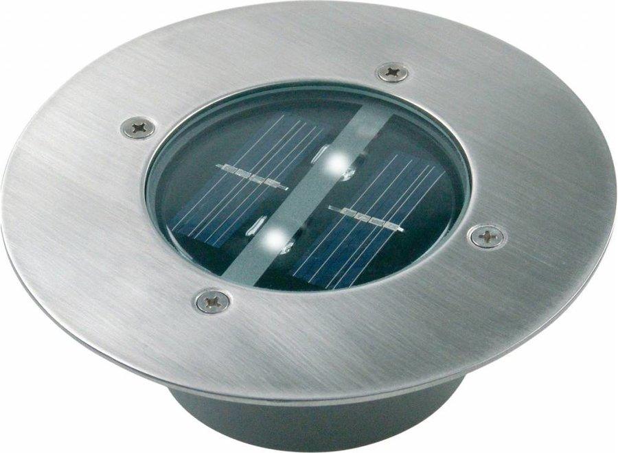 Ranex Carlo LED Solar Grondspot - Rond