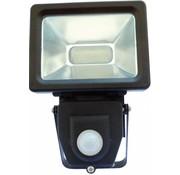 LED's Light LED's Light 4000K LED Lamp met Bewegingssensor 10 W - Black
