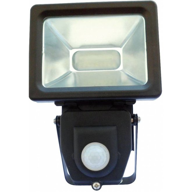 LED's Light 4000K LED Lamp met Bewegingssensor 10 W - Black