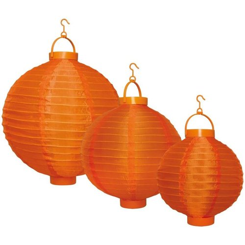 Party LED Lampion 3-set - Orange