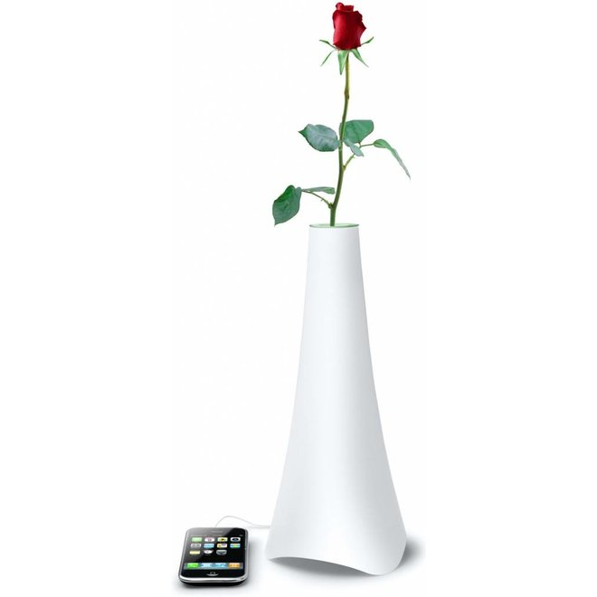 Muse ML-50 SF Design Speaker Bloemenvaas - White