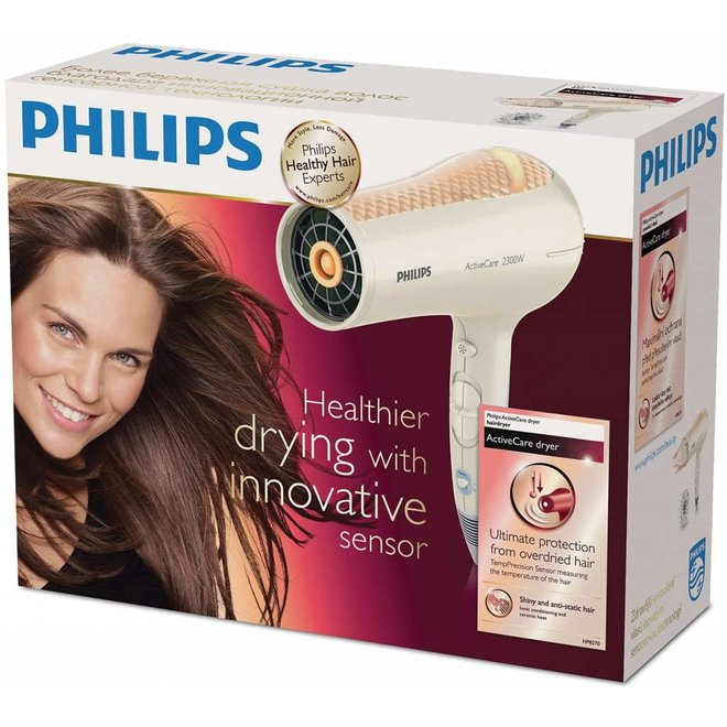 Philips HP 8270/00 ActiveCare LED Föhn - Cream