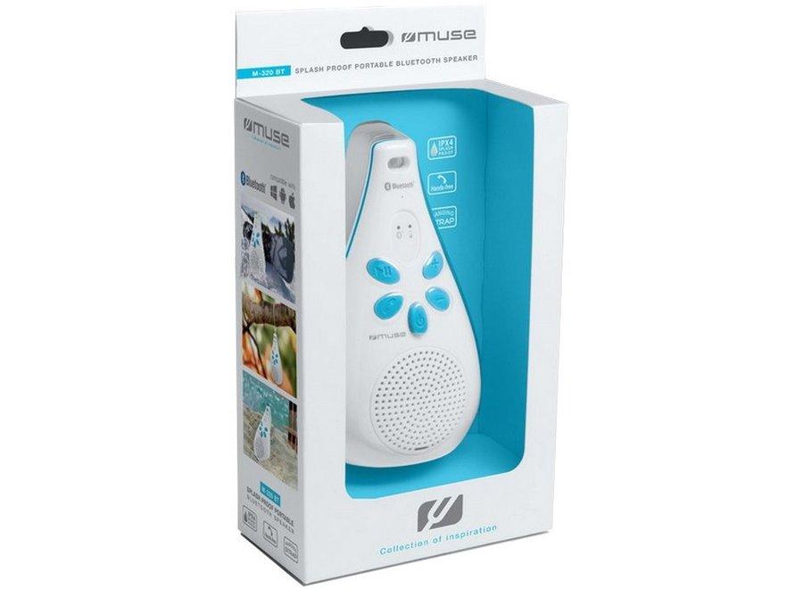 Muse M-320 BT Portable Spatwaterdicht met Bluetooth Speaker