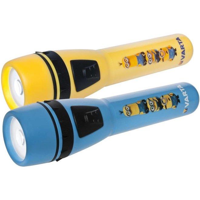 Varta Minions LED Zaklamp - Blue/Yellow
