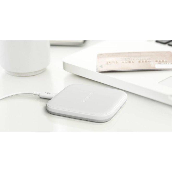 Samsung Mini EP-PA510 LED Inductive Charging Pad - White
