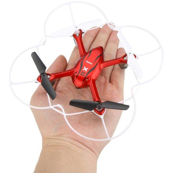 Syma X11C Hornet Mini LED Quadcopter - Red
