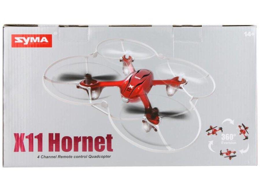 Syma X11C Hornet Mini LED Quadcopter - Black