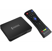 Konig Konig 4K Android streaming box 4K 3D 5G Wi-Fi - Black