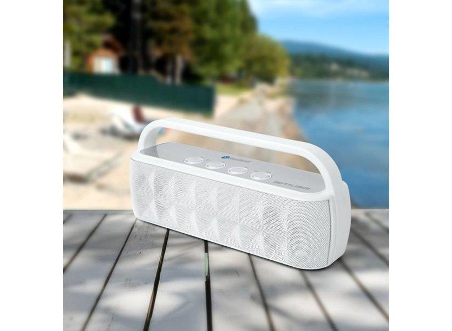 Muse M-560 BTW met Bluetooth Speaker - White