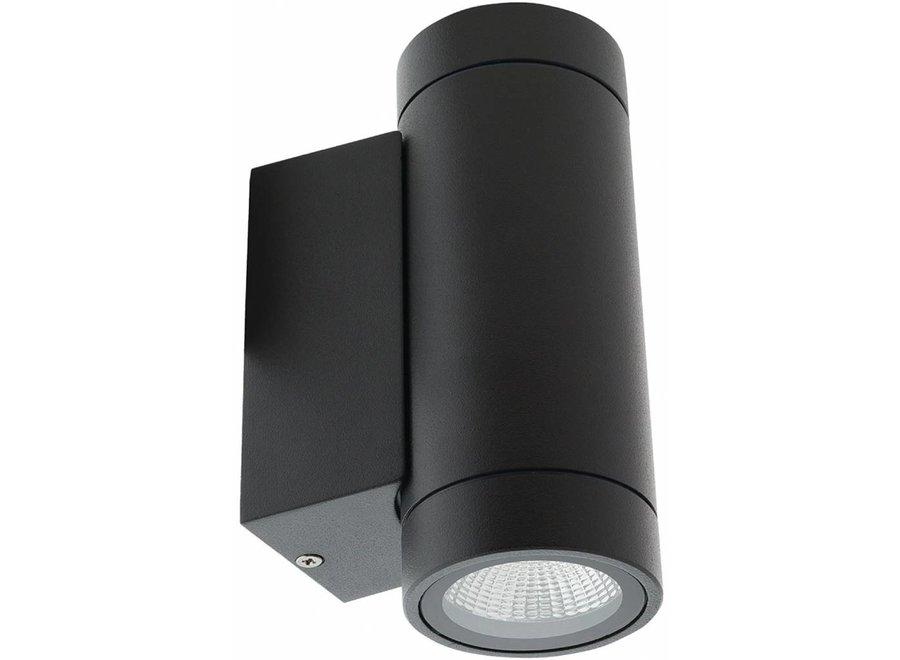HQ Intenso LED Wandlamp Rond - Antraciet
