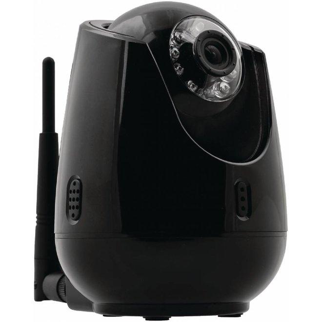 Konig Indoor Pan-Tilt IP-Camera Videobewaking Op Afstand - Black