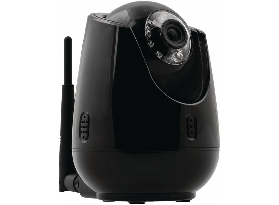 Konig Indoor Pan-Tilt IP-Camera Videobewaking Op Afstand - Black