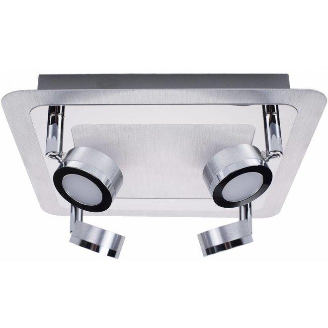 Ranex Treviso LED Plafondspot 4 Lampen