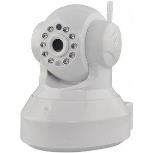 Valueline Valueline HD Kantel Zwenk IP-camera voor Binnen 2-wegs Audio - White
