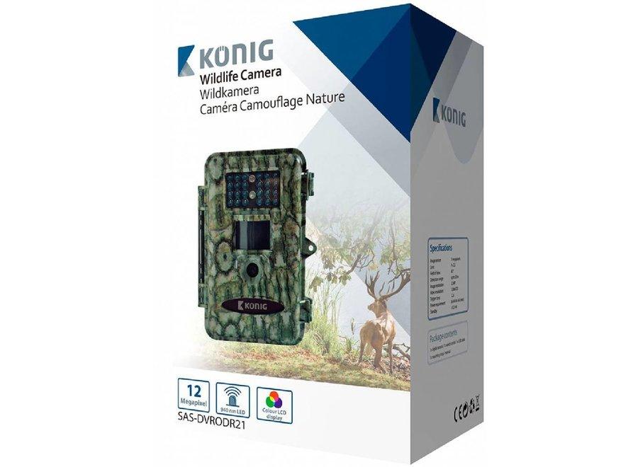 Konig Wildcamera met LCD-kleurenscherm - Camouflage