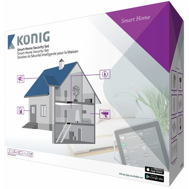 Konig Smart Home Beveiligingsset