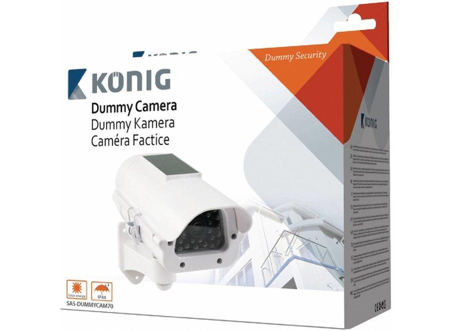 Konig Dummy Camera Solar - White