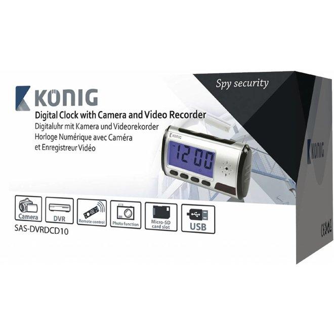 Konig Klok voor Spycam