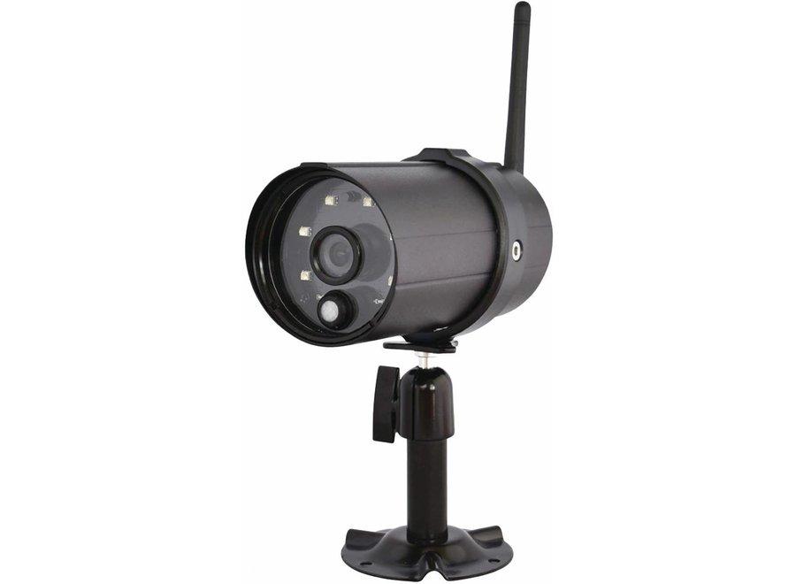 Konig Wi-Fi Outdoor-camera HD voor SAS-CLALARM Systemen - Black