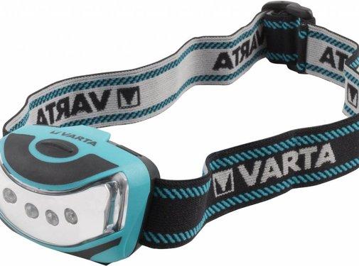 Varta Varta Outdoor Sport 4 x LED Hoofdlamp - Blue