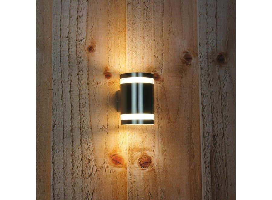 Ranex Sonya LED Wandlamp Kunststof - RVS
