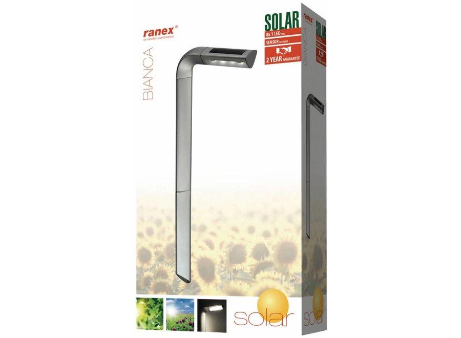 Ranex Bianca LED-tuinverlichting op Solar