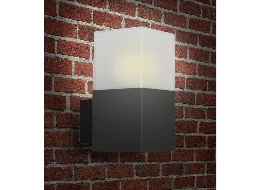Ranex Sheila LED Wandlamp Aluminium Kunststof - Antraciet