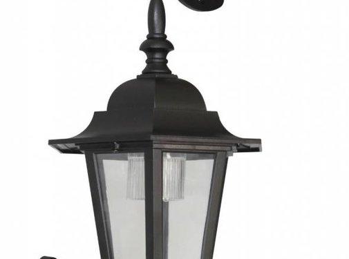 Ranex Ranex London Solar LED Wandlamp met Bewegingsmelder - Zwart