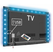 Konig Konig USB LED TV-strip Dimbaar 2 x 50 cm 1 x 90 cm - Multicolour
