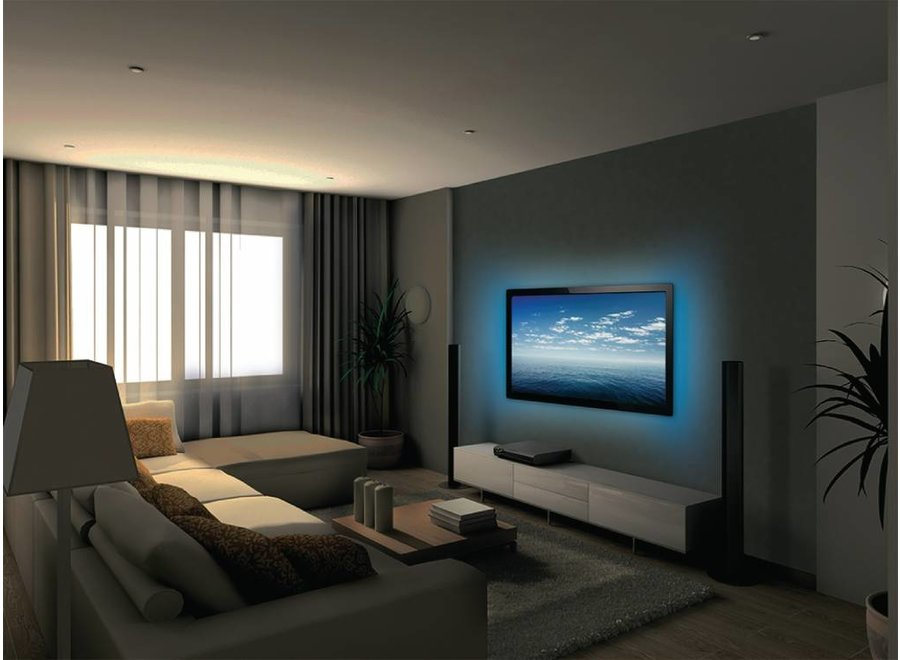 Konig USB LED TV-strip Dimbaar 2 x 50 cm - Multicolour
