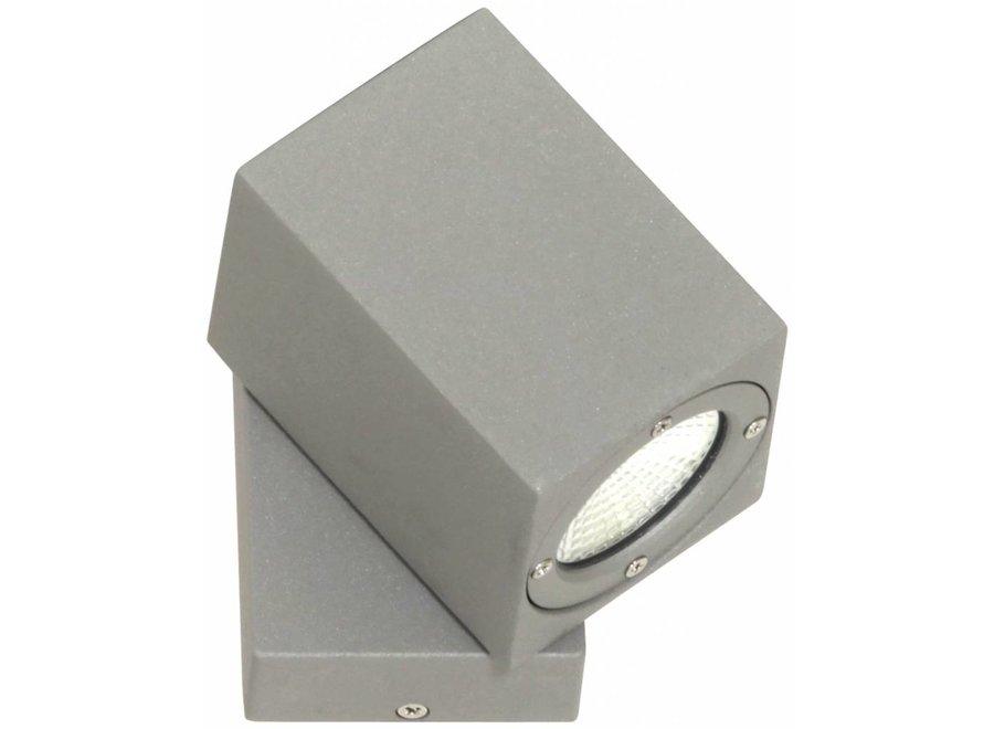 Ranex Gina LED Wandlamp Aluminium Glas - Rotating
