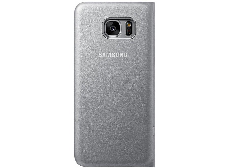 Samsung Galaxy S7 Edge EF-NG935PS LED View Cover - Zilver