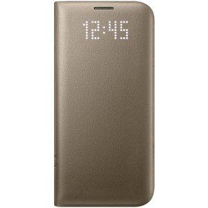 Samsung Samsung Galaxy S7 Edge EF-NG935PF LED View Cover - Goud