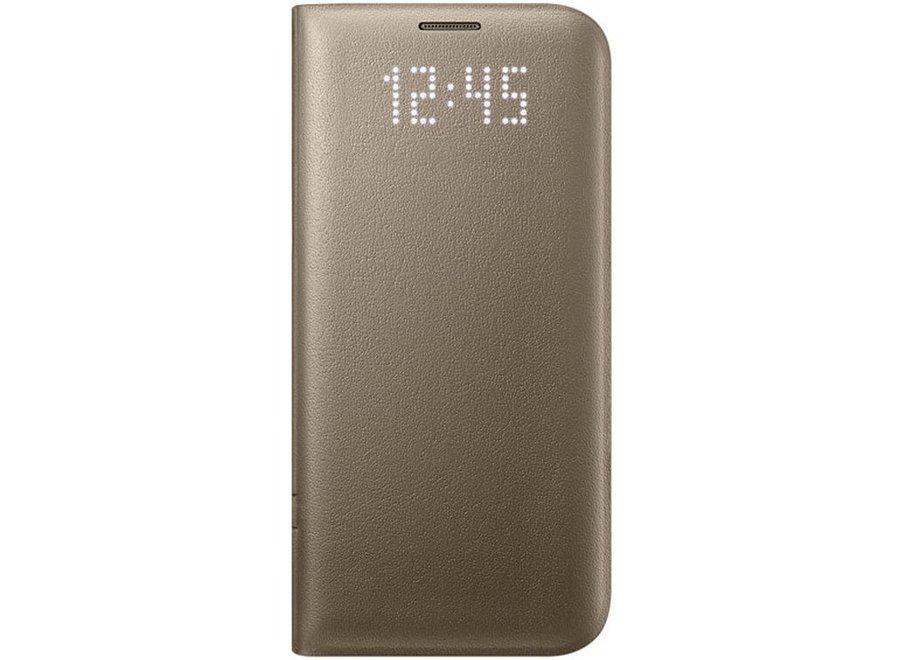 Samsung Galaxy S7 Edge EF-NG935PF LED View Cover - Goud