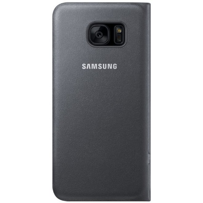 Samsung Galaxy S7 Edge EF-NG935PB LED View Cover - Zwart