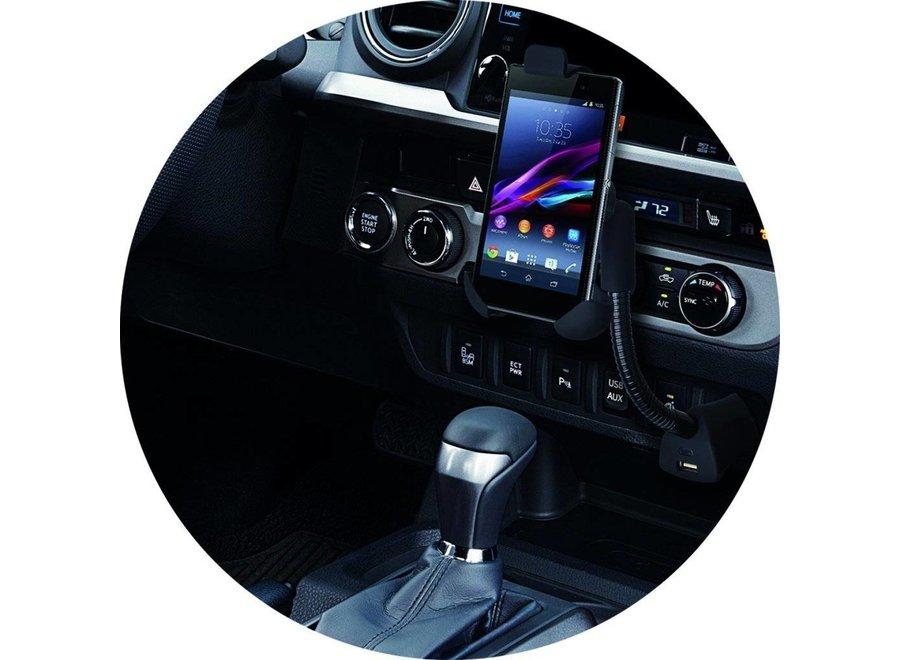 ProPlus Auto Smartphone-houder met Flexibele Zwanenhals - Universeel