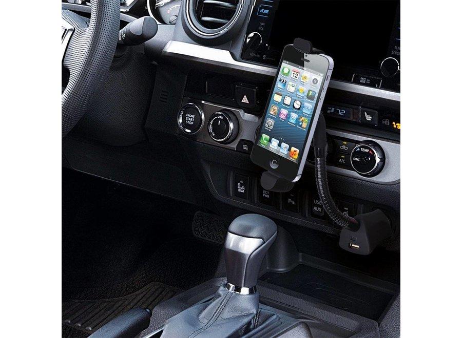 ProPlus Autohouder iPhone 5/5S/6 met Flexibele Zwanenhals