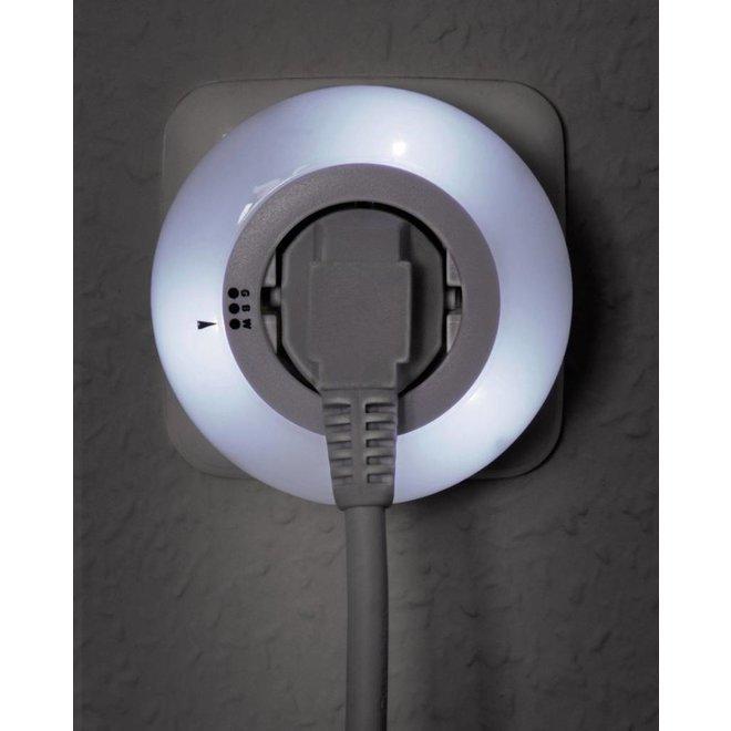 Ranex LED Nachtlamp 0.5 W met Dag/Nacht Sensor