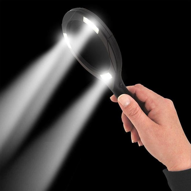 ProPlus Vergrootglas met LED COB Verlichting