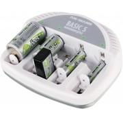 Ansmann Ansmann Basic 5 Plus Universele Batterijlader - Wit