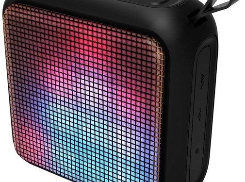Lenco Lenco Portable Party LED Bluetooth Speaker - Zwart